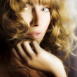 Stock fotografie: Woman with beautiful wavy hair