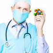 Doctor Problem Solving Medical Complications — Stock Photo #11519385