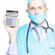 Cost of healthcare — Stock Photo