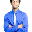 Smiling young Asian male business person — Stock Photo