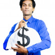 Stock Photo: Making good money