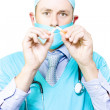 See You Doctor On How To Quit Smoking - Stock Photo