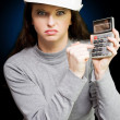 Furious under paid worker about to strike out — Stock Photo