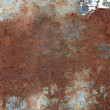 Stock Photo: Old iron plate with rust