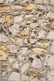 Antigua muralla de rocas — Foto de Stock