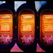 Slot machine background — Stock Photo