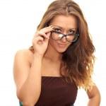 Girl in glasses — Stock Photo #11020050