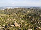 Rocky Peak Park above Los Angeles California — Stock Photo
