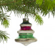 Stock Photo: Vintage Hanging Christmas Tree Ornament