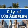 City of Los Angeles Sign — Stock Photo #11675032