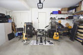 Garage Band Music Equipment — Stock Photo