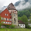 Stock Photo: Old house in Principality of Liechtenstein