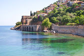 The old fort in the Turkish city of Alanya — Stock Photo