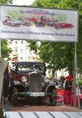 Baden-Baden-den 13 juli, 2012: internationell utställning av gamla bil — Stockfoto