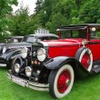 Baden-Baden - July 13, 2012: International Exhibition of old car — Stock Photo
