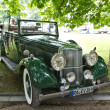 "BADEN-BADEN, GERMANY – JULY 13:  ""ARMSTRONG-SIDDELEY "" (19 - Stock Photo"