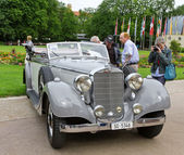 "BADEN-BADEN, GERMANY – JULY 13: ""MERCEDES-BENZ "" (1934) at — Stock Photo"