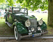 "BADEN-BADEN, GERMANY – JULY 13: ""ARMSTRONG-SIDDELEY "" (19 — Stock Photo"