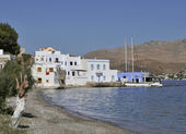 Agia Marina, Leros Island — Stock Photo