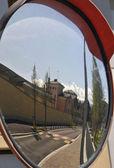 Street mirror — Stock Photo