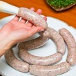 Homemade traditional sausage — Stock Photo #10903139