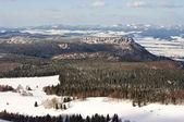 Broumovske steny góry — Zdjęcie stockowe
