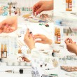 Collection of medicines — Stock Photo