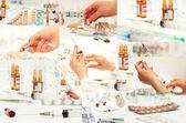 Collecte de médicaments — Photo