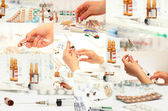 Collection of medicines — Stockfoto