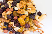 Dried fruits and nuts — Stockfoto