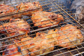 Chicken fried — Stock Photo