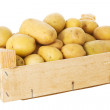 Box with potatoes — Stock Photo #10871165