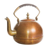 Old tea kettle — Stock Photo