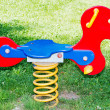 Stock Photo: Colorful play equipment