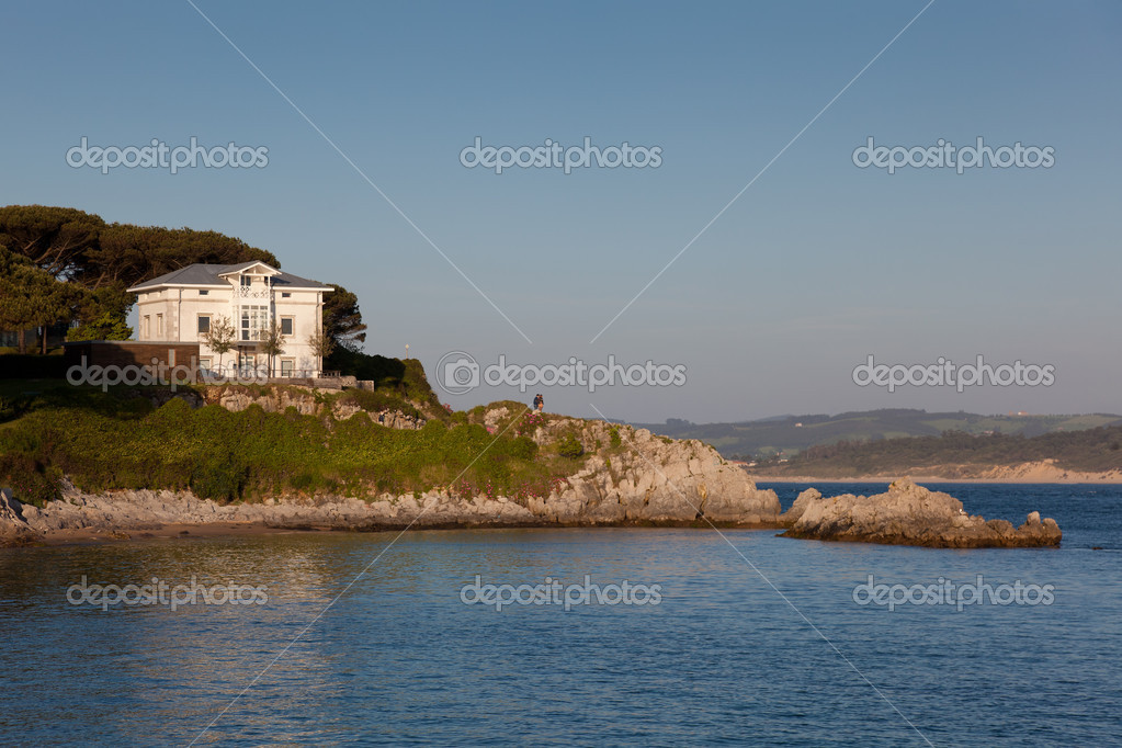 Coast of Santander, Cantabria, Spain — Stock Photo #11191354