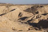Bardenas Reales desert, Navarra, Spain — Stock Photo