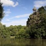 Sibylle temple, Buttes-Chaumont park, Paris, Ille de France, Fra — Stock Photo #11784973