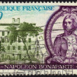 Stamp napoleon bonaparte — Stock Photo