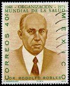 Portrait of dr.Valverde Rodolfo Robles — Stock Photo