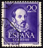 Juan Ruiz de Alarcon y Mendoza — Stock Photo