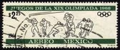 Olympic Games in Mexico 1968 — Stock Photo