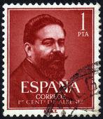 Portrait Isaac Manuel Francisco Albéniz — Stock Photo