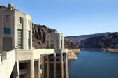 Lake Mead and Hoover Dam — Stock Photo