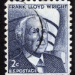 Architect Frank Lloyd Wright — Stock Photo