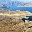 Aerial view of Colorado River and Lake Mead — Photo