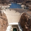 Royalty-Free Stock Photo: Aerial view of Hoover Dam