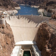 Aerial view of Hoover Dam — Stock Photo #10978546
