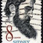 Sidney Lanier ( 1842-1881 ) American poet — Stock Photo