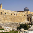 Archaeological Park in Jerusalem — Stock Photo