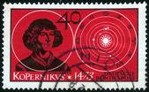 Stamp of Nicolaus Copernicus — Stock Photo